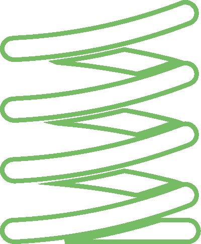 spring coil vector